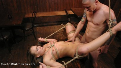 Photo number 2 from Captive Big Ass Babe Fucked in the Ass shot for Sex And Submission on Kink.com. Featuring AJ Applegate and Mr. Pete in hardcore BDSM & Fetish porn.