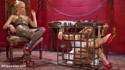 Photo number 12 from AJ Applegate Flogged, Fisted and Anally Strap-on Fucked by Lorelei Lee shot for Whipped Ass on Kink.com. Featuring Lorelei Lee and AJ Applegate in hardcore BDSM & Fetish porn.