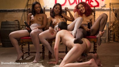 Photo number 13 from Three The Hard Way shot for Divine Bitches on Kink.com. Featuring Jay Wimp, Daisy Ducati, Lotus Lain and Chanell Heart in hardcore BDSM & Fetish porn.