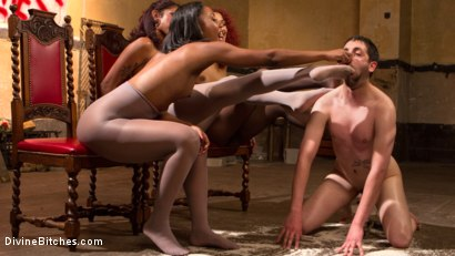 Photo number 12 from Three The Hard Way shot for Divine Bitches on Kink.com. Featuring Jay Wimp, Daisy Ducati, Lotus Lain and Chanell Heart in hardcore BDSM & Fetish porn.