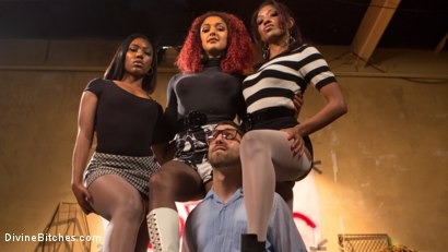 Photo number 15 from Three The Hard Way shot for Divine Bitches on Kink.com. Featuring Jay Wimp, Daisy Ducati, Lotus Lain and Chanell Heart in hardcore BDSM & Fetish porn.