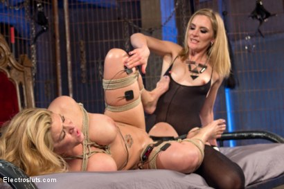 Photo number 8 from Carissa Montgomery Shocked, Topped and Electrofucked by Mona Wales shot for Electro Sluts on Kink.com. Featuring Mona Wales and Carissa Montgomery in hardcore BDSM & Fetish porn.