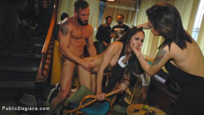 Photo number 10 from Perky Carolina Abril is Ravaged and Shamed in Crowded Bar shot for publicdisgrace on Kink.com. Featuring Carolina Abril, Emilio Ardana and Satrina in hardcore BDSM & Fetish porn.