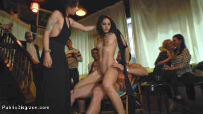 Photo number 11 from Perky Carolina Abril is Ravaged and Shamed in Crowded Bar shot for publicdisgrace on Kink.com. Featuring Carolina Abril, Emilio Ardana and Satrina in hardcore BDSM & Fetish porn.