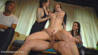 Photo number 13 from Perky Carolina Abril is Ravaged and Shamed in Crowded Bar shot for Public Disgrace on Kink.com. Featuring Carolina Abril, Emilio Ardana and Satrina in hardcore BDSM & Fetish porn.