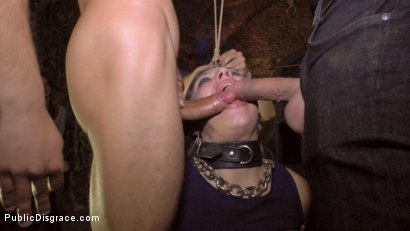Photo number 7 from Anal Slut Humiliated and Fucked Outdoors shot for Public Disgrace on Kink.com. Featuring Camil Core, Alejandro Mango and Satrina in hardcore BDSM & Fetish porn.