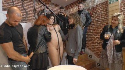Photo number 11 from Busty Klara Gold Fucked Hard Outdoors!!! shot for Public Disgrace on Kink.com. Featuring Mona Wales, Xavi Tralla and Klara Gold in hardcore BDSM & Fetish porn.