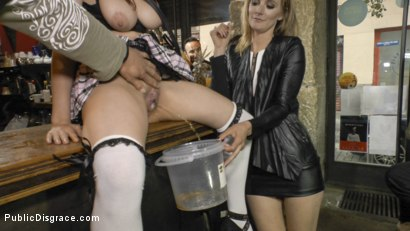 Photo number 19 from The Ultimate Humiliation - Natural Busty Piss Whore Fisted and Fucked shot for Public Disgrace on Kink.com. Featuring Steve Holmes, Mona Wales, Zenda Sexy and John Grey in hardcore BDSM & Fetish porn.