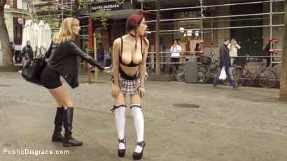 Photo number 15 from The Ultimate Humiliation - Natural Busty Piss Whore Fisted and Fucked shot for Public Disgrace on Kink.com. Featuring Steve Holmes, Mona Wales, Zenda Sexy and John Grey in hardcore BDSM & Fetish porn.