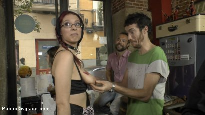 Photo number 20 from The Ultimate Humiliation - Natural Busty Piss Whore Fisted and Fucked shot for Public Disgrace on Kink.com. Featuring Steve Holmes, Mona Wales, Zenda Sexy and John Grey in hardcore BDSM & Fetish porn.