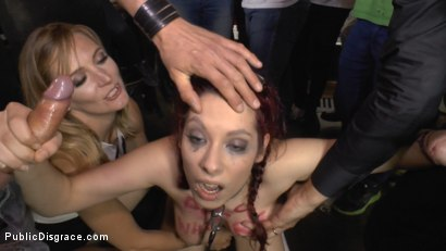Photo number 7 from The Ultimate Humiliation - Natural Busty Piss Whore Fisted and Fucked shot for Public Disgrace on Kink.com. Featuring Steve Holmes, Mona Wales, Zenda Sexy and John Grey in hardcore BDSM & Fetish porn.