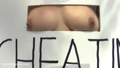 Photo number 10 from Cheating Wife's Big Hot Ass Shamed Fully Naked In Public Display shot for Public Disgrace on Kink.com. Featuring Mona Wales, Montse Swinger and Xavi Tralla in hardcore BDSM & Fetish porn.