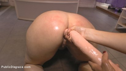 Photo number 16 from Cheating Wife's Big Hot Ass Shamed Fully Naked In Public Display shot for Public Disgrace on Kink.com. Featuring Mona Wales, Montse Swinger and Xavi Tralla in hardcore BDSM & Fetish porn.