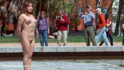 Photo number 18 from Mitsuki Sweet Serves Public Disgrace shot for Public Disgrace on Kink.com. Featuring Steve Holmes and Mitsuki Sweet in hardcore BDSM & Fetish porn.