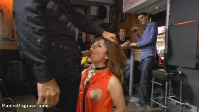 Photo number 5 from Mitsuki Sweet Serves Public Disgrace shot for Public Disgrace on Kink.com. Featuring Steve Holmes and Mitsuki Sweet in hardcore BDSM & Fetish porn.