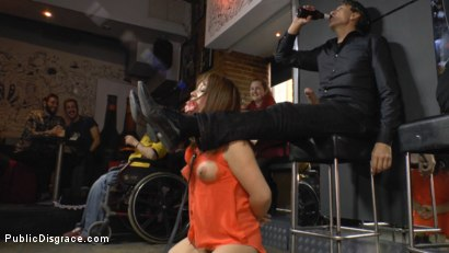 Photo number 6 from Mitsuki Sweet Serves Public Disgrace shot for Public Disgrace on Kink.com. Featuring Steve Holmes and Mitsuki Sweet in hardcore BDSM & Fetish porn.