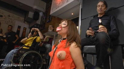 Photo number 7 from Mitsuki Sweet Serves Public Disgrace shot for Public Disgrace on Kink.com. Featuring Steve Holmes and Mitsuki Sweet in hardcore BDSM & Fetish porn.