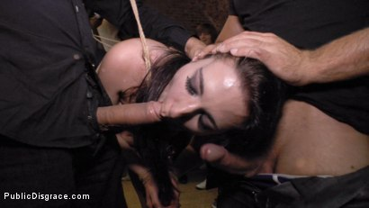 Photo number 9 from Two Slutty Losers Get Mind Fucked by Mona Wales and Juliette March shot for Public Disgrace on Kink.com. Featuring Steve Holmes, Mona Wales, Juliette March, Valeria Blue, Xavi Tralla and Claudia Nicole in hardcore BDSM & Fetish porn.
