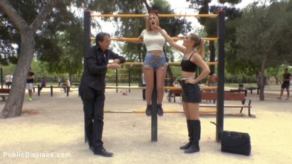 Photo number 1 from Two Slutty Losers Get Mind Fucked by Mona Wales and Juliette March shot for Public Disgrace on Kink.com. Featuring Steve Holmes, Mona Wales, Juliette March, Valeria Blue, Xavi Tralla and Claudia Nicole in hardcore BDSM & Fetish porn.