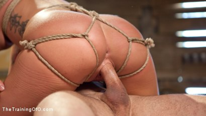 Photo number 8 from Position of Punishment and Reward: 19 Year Old Sabrina Banks Day Two shot for The Training Of O on Kink.com. Featuring Sabrina Banks and John Strong in hardcore BDSM & Fetish porn.