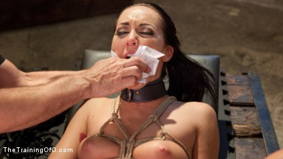 Photo number 10 from Position of Punishment and Reward: 19 Year Old Sabrina Banks Day Two shot for The Training Of O on Kink.com. Featuring Sabrina Banks and John Strong in hardcore BDSM & Fetish porn.