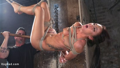 Photo number 10 from Sabrina Banks Used and Abused in Hardcore Bondage shot for Hogtied on Kink.com. Featuring Sabrina Banks in hardcore BDSM & Fetish porn.