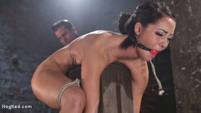 Photo number 13 from Sabrina Banks Used and Abused in Hardcore Bondage shot for Hogtied on Kink.com. Featuring Sabrina Banks in hardcore BDSM & Fetish porn.
