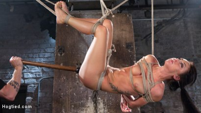 Photo number 14 from Sabrina Banks Used and Abused in Hardcore Bondage shot for Hogtied on Kink.com. Featuring Sabrina Banks in hardcore BDSM & Fetish porn.