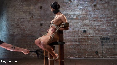 Photo number 4 from Sabrina Banks Used and Abused in Hardcore Bondage shot for Hogtied on Kink.com. Featuring Sabrina Banks in hardcore BDSM & Fetish porn.