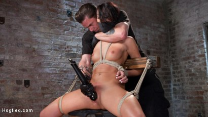Photo number 5 from Sabrina Banks Used and Abused in Hardcore Bondage shot for Hogtied on Kink.com. Featuring Sabrina Banks in hardcore BDSM & Fetish porn.