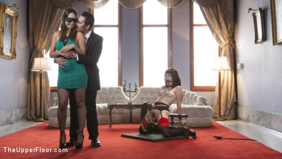 Photo number 1 from The Whipping Girl Gets Fucked shot for The Upper Floor on Kink.com. Featuring Tommy Pistol, Jade Nile and Yhivi in hardcore BDSM & Fetish porn.