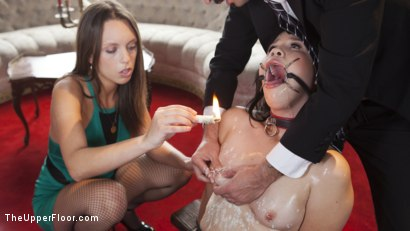 Photo number 5 from The Whipping Girl Gets Fucked shot for The Upper Floor on Kink.com. Featuring Tommy Pistol, Jade Nile and Yhivi in hardcore BDSM & Fetish porn.