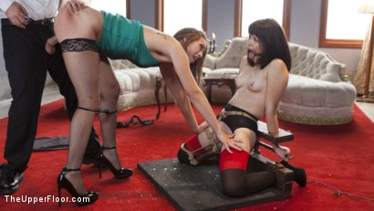 Photo number 7 from The Whipping Girl Gets Fucked shot for The Upper Floor on Kink.com. Featuring Tommy Pistol, Jade Nile and Yhivi in hardcore BDSM & Fetish porn.