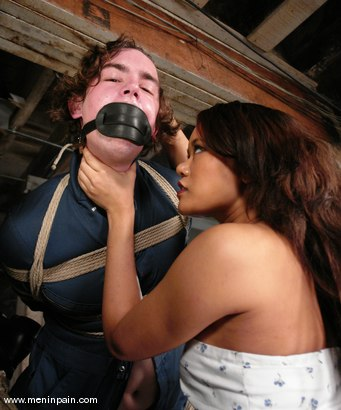 Photo number 3 from Dorian and Annie Cruz shot for Men In Pain on Kink.com. Featuring Annie Cruz and Dorian in hardcore BDSM & Fetish porn.