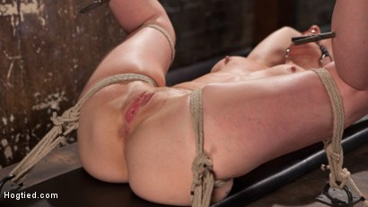 Photo number 12 from MILF Masochist in Tight Bondage shot for Hogtied on Kink.com. Featuring Simone Sonay in hardcore BDSM & Fetish porn.