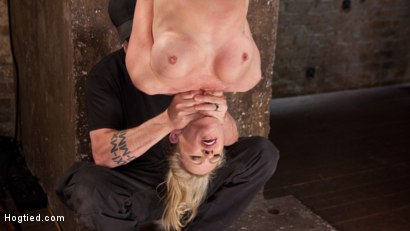 Photo number 7 from MILF Masochist in Tight Bondage shot for Hogtied on Kink.com. Featuring Simone Sonay in hardcore BDSM & Fetish porn.