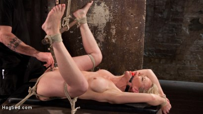Photo number 11 from MILF Masochist in Tight Bondage shot for Hogtied on Kink.com. Featuring Simone Sonay in hardcore BDSM & Fetish porn.