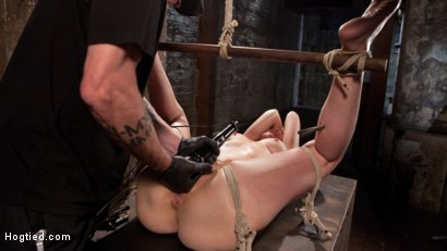 Photo number 14 from MILF Masochist in Tight Bondage shot for Hogtied on Kink.com. Featuring Simone Sonay in hardcore BDSM & Fetish porn.