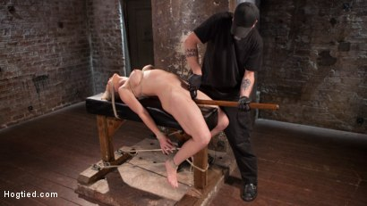 Photo number 15 from MILF Masochist in Tight Bondage shot for Hogtied on Kink.com. Featuring Simone Sonay in hardcore BDSM & Fetish porn.
