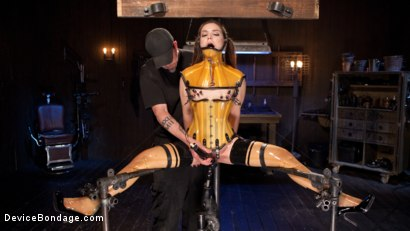 Photo number 11 from Whore Bound in a Euphoria of Depravity shot for Device Bondage on Kink.com. Featuring Juliette March in hardcore BDSM & Fetish porn.