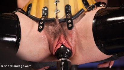 Photo number 14 from Whore Bound in a Euphoria of Depravity shot for Device Bondage on Kink.com. Featuring Juliette March in hardcore BDSM & Fetish porn.