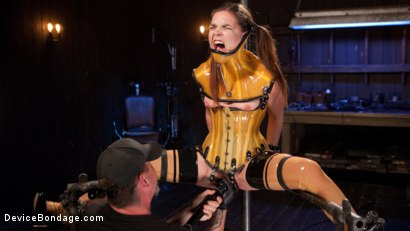 Photo number 15 from Whore Bound in a Euphoria of Depravity shot for Device Bondage on Kink.com. Featuring Juliette March in hardcore BDSM & Fetish porn.
