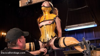 Photo number 13 from Whore Bound in a Euphoria of Depravity shot for Device Bondage on Kink.com. Featuring Juliette March in hardcore BDSM & Fetish porn.