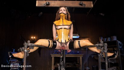 Photo number 4 from Whore Bound in a Euphoria of Depravity shot for Device Bondage on Kink.com. Featuring Juliette March in hardcore BDSM & Fetish porn.