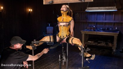 Photo number 8 from Whore Bound in a Euphoria of Depravity shot for Device Bondage on Kink.com. Featuring Juliette March in hardcore BDSM & Fetish porn.