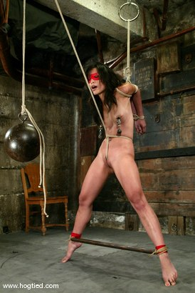 Photo number 3 from Crimson Ninja shot for Hogtied on Kink.com. Featuring Crimson Ninja in hardcore BDSM & Fetish porn.