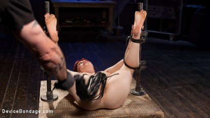 Photo number 14 from Breaking in the New Girl shot for Device Bondage on Kink.com. Featuring Jessica Ryan in hardcore BDSM & Fetish porn.
