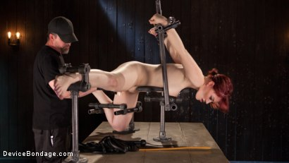 Photo number 8 from Breaking in the New Girl shot for Device Bondage on Kink.com. Featuring Jessica Ryan in hardcore BDSM & Fetish porn.