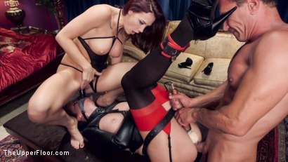 Photo number 2 from Chanel Preston's Anal Submission shot for The Upper Floor on Kink.com. Featuring Chanel Preston, Bianca Breeze and Marco Banderas in hardcore BDSM & Fetish porn.