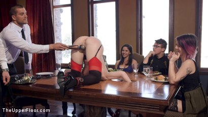 Photo number 13 from Anal MILF Slave Trains 19 Year Old How to Please Cock shot for The Upper Floor on Kink.com. Featuring Ramon Nomar, Simone Sonay and Addison Ryder in hardcore BDSM & Fetish porn.